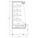 R-1 MR 110/90 MARTINI - Hűtött faliregál