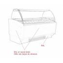 K-1 CR 10 CORNETTI | 10 tégelyes fagylaltpult