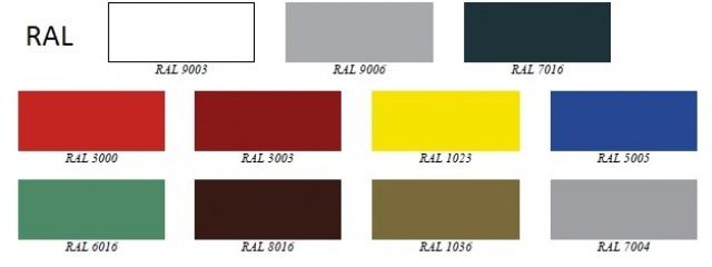 RCHBA 1.1/0.9 - Hűtött faliregál