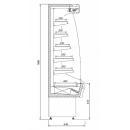 R-1 MMR 110/65 MINI MARTINI - Hűtött faliregál