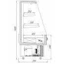 R-1 SM 70/70 SMART | Hűtött faliregál