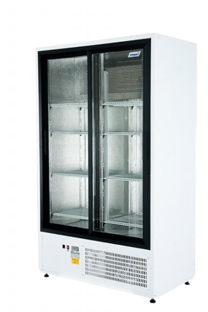 CC 1200 SGD (SCH 800 R)   Csúszó üvegajtós hűtővitrin