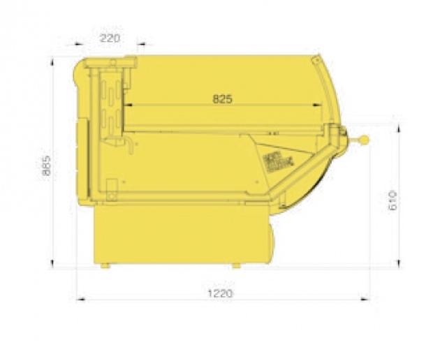 LCT Tucana 01 SELF 1,25 - Önkiszolgáló csemegepult