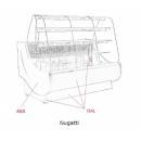 C-1 NG 130/100 NUGATTI - Süteményes pult
