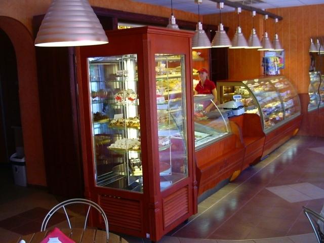 SZ-1 BL 80 - BELLISSIMA Álló süteményes vitrin