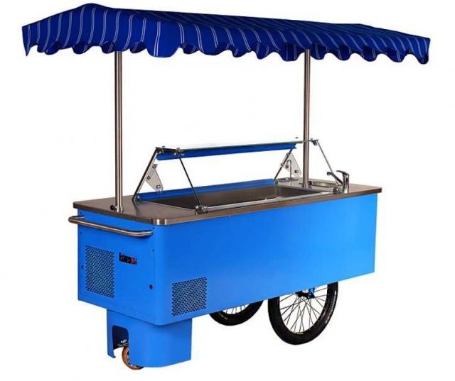 K-1 RK 7 RIKSHA | Kerekes fagylaltos kocsi