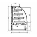 LNC Carina 03 1,0 | Semleges süteményespult