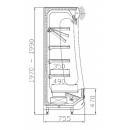 RCh-1-1/B 100 REGULUS - Hűtött faliregál