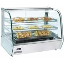 RTR 120 Display warmer with curved glass display