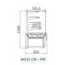 WCHCN-PR 1,0 - Süteményes pult