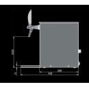 PYGMY 25/K Exclusive | Száraz hűtésű, egykörös sörcsapoló beépített légkompresszorral