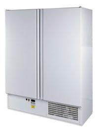 CC 1600 (SCH 1400) INOX | Kétajtós, rozsdamentes hűtőszekrény