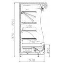 RCh-1-1 1,0 ORLANDO | Hűtött faliregál