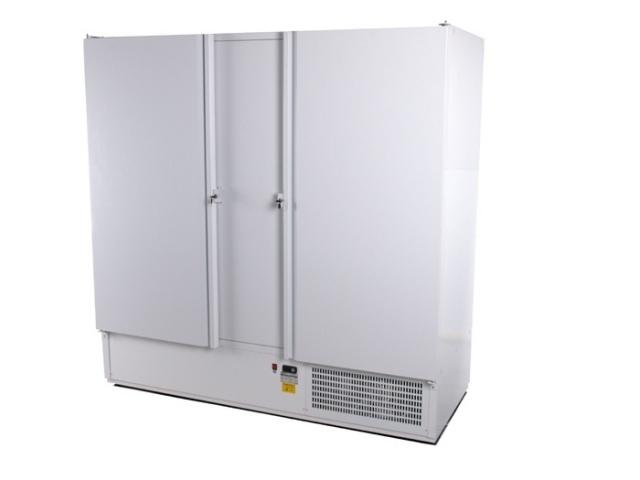 SCH 2000 INOX - Két teleajtós, rozsdamentes hűtőszekrény