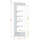 RCH Hercules 05 1,25 - Hűtött faliregál
