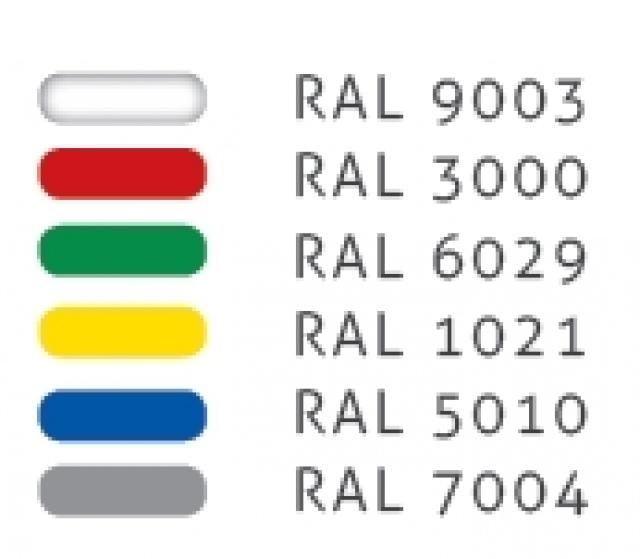 SCK Kolumba CH REM 1,875 - Négy oldalon üveges regál