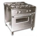 NGT-800 - 4 égős gáztűzhely 2 ráccsal és sütővel