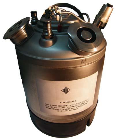 Mosóhordó - 9 literes, 1 kivezetéssel