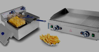 Buffet and snack appliences with discount!